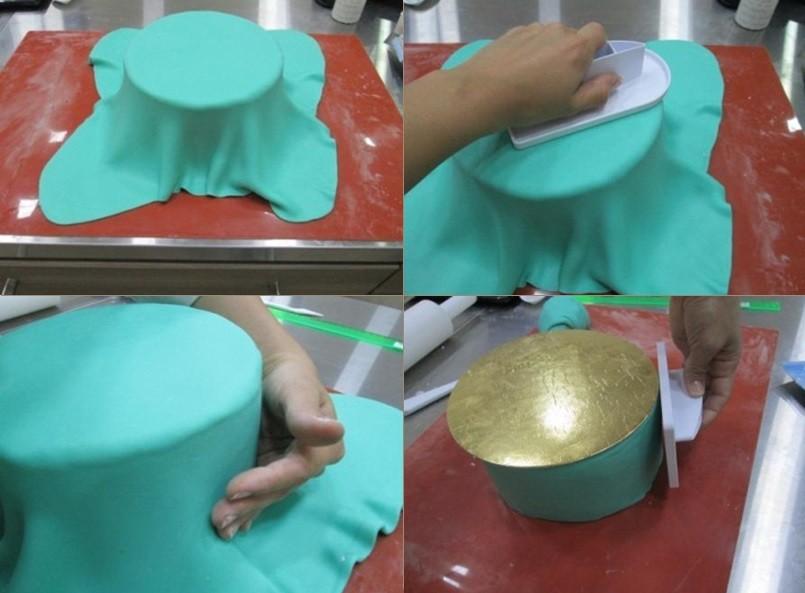 Как сделать фото на мастику на торт 593